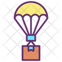 Delivery Air Balloon Delivery Shipping Delivery Box Icon