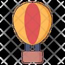 Air Baloon Parachute Balloon Parachute Icon