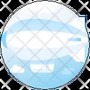 Air Blimp Airship Adventure Icon