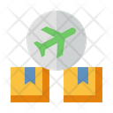 Air Cargo International Shipping Transport Icon