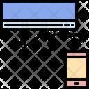 Air Conditioner Smartphone Icon