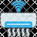 Air Conditioner Smart Wifi Icon