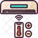 Air Conditioner Heating Refreshing Icon