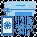 Air Conditioner Smart Temperature Icon
