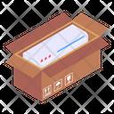 Air Conditioner Cardboard Icon