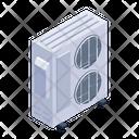 Window Ac Air Cooler Electronic Fan Icon