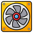 Air Cooler Fan Exhaust Fan Hardware Icon