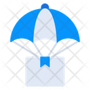 Air Delivery Logistics Delivery Airdrop Icon