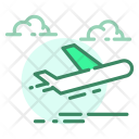 Air Delivery Flight Icon
