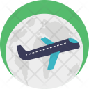Package Airplane Freight Icon