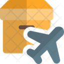 Air Delivery Air Shipping Air Freight Icon