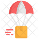 Air Delivery Ari Balloon Delivery Icon
