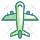 Air Delivery Plane Transport Icon