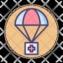 Air Drop Medicine Medkit Icon