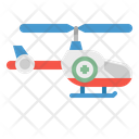 Helicopter Chopper Medical Icon