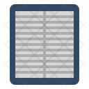 Air Filter Automotive Icon