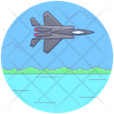Air Force Airplane Fighter Plane Icon