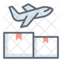 Air Freight Air Transport Air Journey Icon