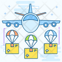 Air Freight Air Logistics Air Shipping Icon