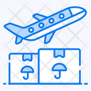 Air Freight Air Logistics Cargo Services Icon