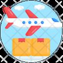 Air Freight Air Logistics Air Shipping Icon