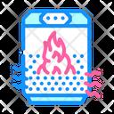 Air Heater Air Heating Icon