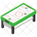 Air Hockey Indoor Game Board Game Icon