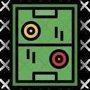 Air Hockey Board Game Arcade Icon