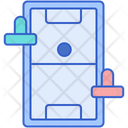 Air Hockey Board Game Game Icon
