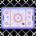 Table Game Air Hockey Table Air Hockey Icon
