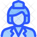Airport Flight Air Hostess Icon