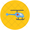 Medical Helicopter Medevac Icon