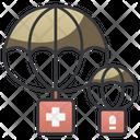 Air Medicine Supply Icon