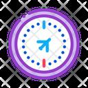 Air Navigation Compass Icon