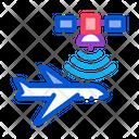 Air Plane Satellite Icon