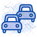 Transport Pollution Cars Icon