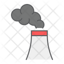 Air Pollution Factory Icon