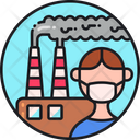 Air Pollution Factory Pollution Mill Pollution Icon