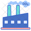 Air Pollution Industries Chemical Pollution Icon