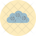 Pollution Cloud Carbondioxide Icon