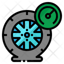 Air Pressure Mechanic Icon
