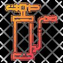 Air Pump Air Pressure Pump Garage Equipment Icon