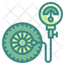 Air Pump Pump Tire Inflate Icon