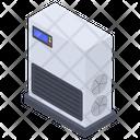 Air Clearing Air Ioniser Air Purification Icon