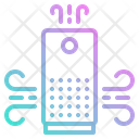Purifier Air Electric Icon
