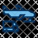 Airplane Transport Vehicle Icon