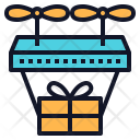 Shipping Technology Drone Icon