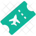 Air Ticket Flight Icon
