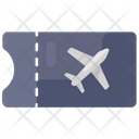 Air Ticket Traveling Boarding Pass Icon