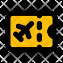 Ticket Travel Coupon Icon